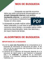 ALGORITMOS DE BUSQUEDA -BUSQUEDA BINARIA