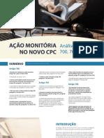 Ação Monitória e o CPC-15