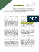 The Solution to the Dewey-Lippmann Debate by Matthew Celmer