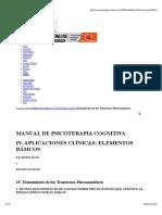 07-MANUAL DE PSICOTERAPIA COGNITIVA IV. APLICACIONES CLÍNICAS-Tratamiento de los Trastornos Psicosomáticos