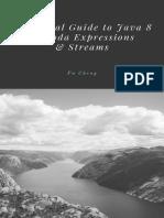 Java8 Lambda Expressions Streams Sample