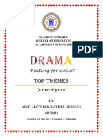 DRAMA Top Themes in Wating for Godot