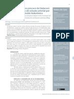A Importancia Do Uso Precoce de Hialuronidase No Tratamento de Oclusao Arterial