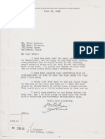 Alfred Hitchcock Notorious Production Letter