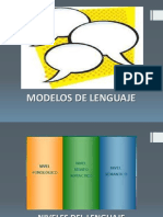 Modelos de Lenguaje
