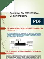 evaluacion estructural de pavimento