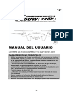 Manual Del Usuario Dron