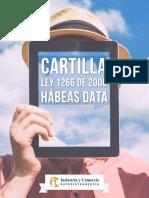 Cartilla Ley 1266 de 2008 Habeas Data