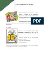 10 Tecnicas de Comprension de Lectura y 10 Tecnicas de Estudiodocx