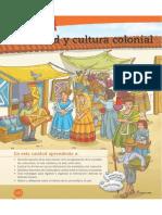 T3 Sociedad y Cultura Colonial