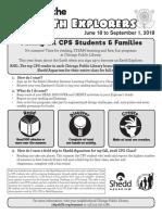 cpl summer reading program flyer