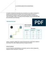 Aplicación de Los Plc en La Automatización de Procesos Industriales