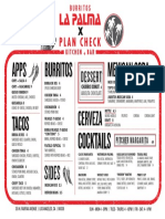 La Palma x Plan Check Final Menu