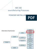 Module 6 - Powder Metallurgy New Semi Notes