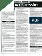 Resumão Jurídico Nº 10 - Direito de Família e Sucessões