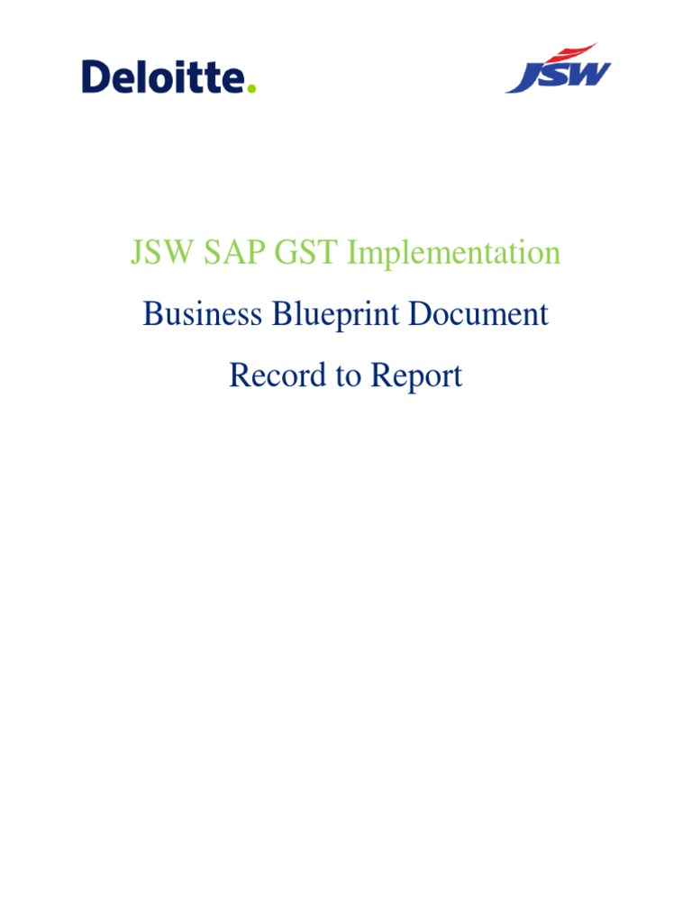 Jsw Steel Bbp r2r v1 2 | Debits And Credits | Value Added Tax