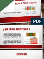RESISTENCIAS ELECTRICAS