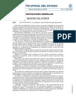 Orden INT-317-2011 Sobre Medidas de Seguridad Privada