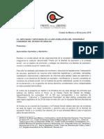 Carta Al Congreso de Hidalgo Del Fleps
