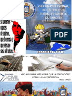 Afiches Ing Civil Barinas