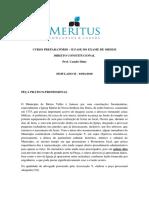 Simulado II - Meritus Constitucional