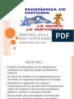 5 Historia en La Educación Básica Modelo Educativo