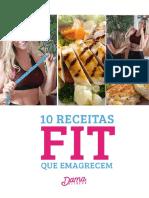 10 Receitas Fitness para uma refeição saudável.