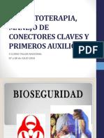 Inyectoterapia, Manejo de Conectores Claves