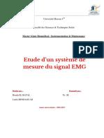 Emg Rapport