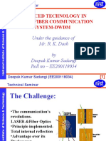 Advanced Technology in Optical Fiber Communication System-dwdm