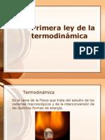 Primera Ley Termodinamica