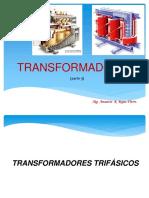 Transformadores Trifasicos. Grupos de Conexion