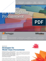 Strategies for World Class Procurement