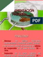 11º Clase - Sedimentadores Primarios