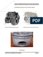 Piston de Combustion Interna