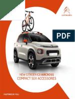 New c3 Aircross Suv Accessory Brochure