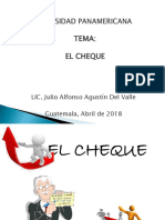 2 El Cheque - Abril 2018