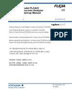 Yokogawa PH FLXA Install Manual