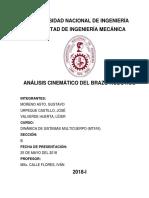 Informe 2-Analisis Cinematico del BrazoRobotico.pdf