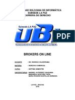 Brokers on Line
