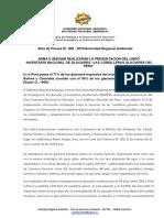 NOTA DE PRENSA N° 009 - PRESENTACIÓN LIBRO GLACIARES