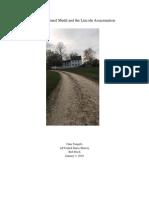 semester 1 research paper - doctor samuel mudd