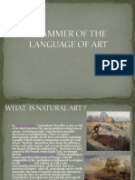 Grammer of the Language of Art