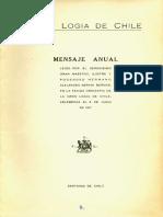Mensaje Anual 1957