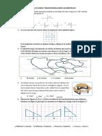 Practicamos Transformaciones Geometricas Ficha 6