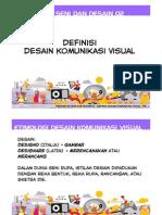 Pengantar Seni Dan Desain 02 - Definisi Desain Komunikasi Visual