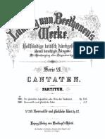 Beethoven -Meeresstille und glückliche Fahrt Op.112