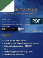 Metodolog%c3%Adas y Procesos de Desarrollo Con VSTS