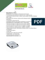 Audiómetro Con Software Para Pc y Espirometro