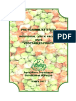 3 - Frozen Fruits and Vegetables Processing Unit - IQF